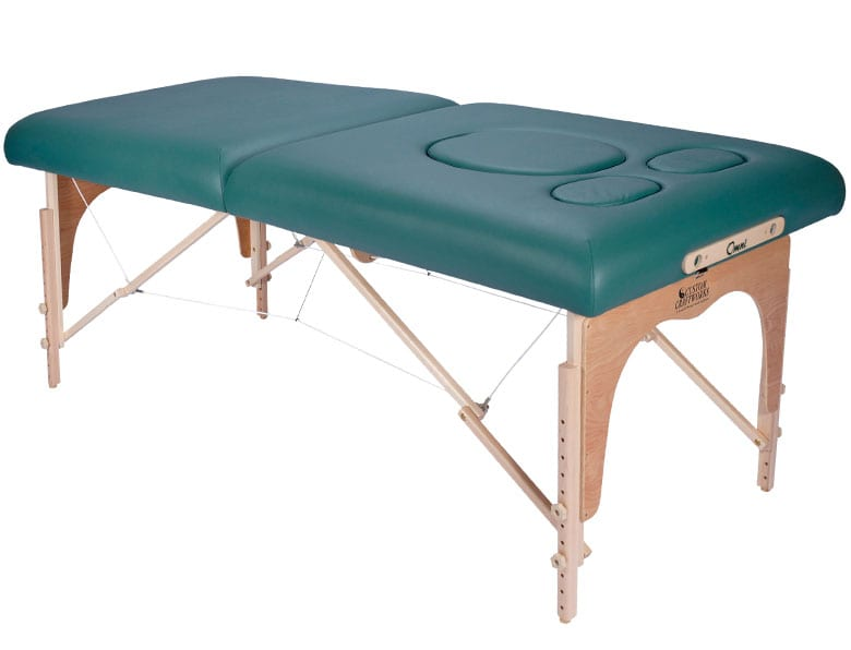 Announcing our new Prenatal Massage table