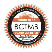 National Certification Board for Therapeutic Massage & Bodywork (NCBTMB) Board Certified
